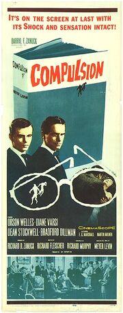 1959 - Compulsion Movie Poster