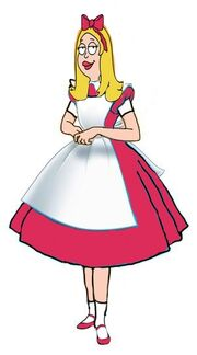 Francine Smith in Wonderland