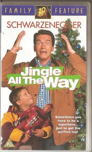 Jingle all the way uk vhs