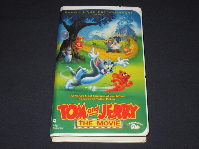 File:Tom & Jerry The Movie VHS.jpg