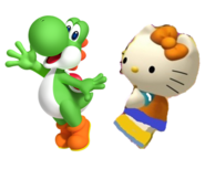 Yoshi and Mimmy