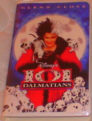 101 Dalmations from Disney VHS Video