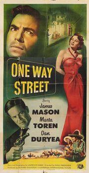 1950 - One Way Street Movie Poster