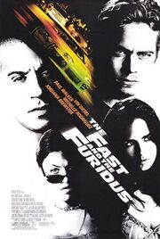 2001- The Fast and the Furious Movie Poster