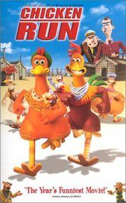 Chicken run 2000 vhs