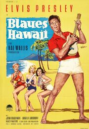 1961 - Blue Hawaii Movie Poster 2