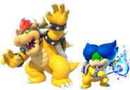 Bowser and Ludwig