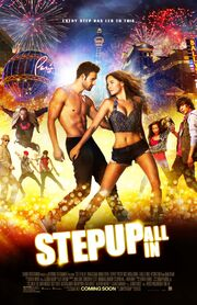 2014 - Step Up All In Movie Poster