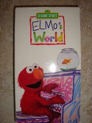 Elmos World 2000 VHS