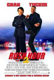 2001 - Rush Hour 2 Movie Poster