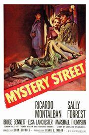 1950 - Mystery Street Movie Poster