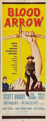 1958 - Blood Arrow Movie Poster