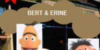 Bert and Ernie: A Close Shave