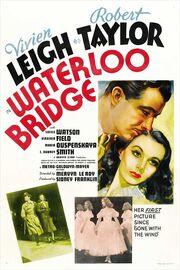 1940 - Waterloo Bridge Movie Poster