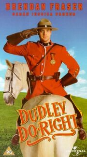 Dudley do right vhs