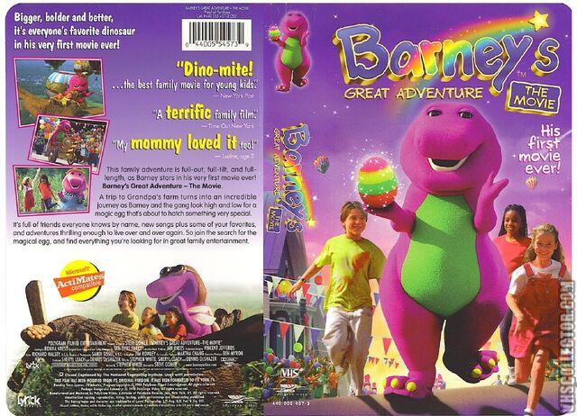 File:Barney's Great Adventure VHS Front Spine And Back Covers.jpg