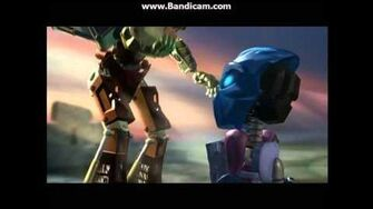 Opening to Bionicle 3 Web of Shadows 2005 DVD
