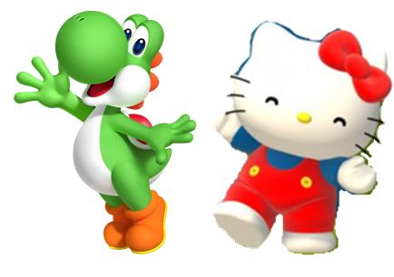 File:Yoshi and Hello kitty.PNG