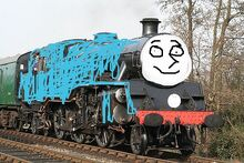 Justin the Bluebell Engine
