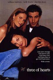 1993 - Three of Hearts Movie Poster