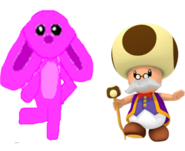 Marie and Toadsworth