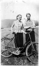Par med sykkel