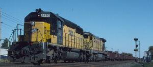 Recent Losses -- Diesel Locomotives Scrapped - CNW 6930