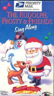 Rudolph frosty and friends sing along vhs