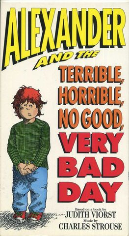 File:Alexander and the terrible horrible no good very bad day vhs.jpg