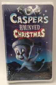 Caspers Haunted Christmas 2000 VHS