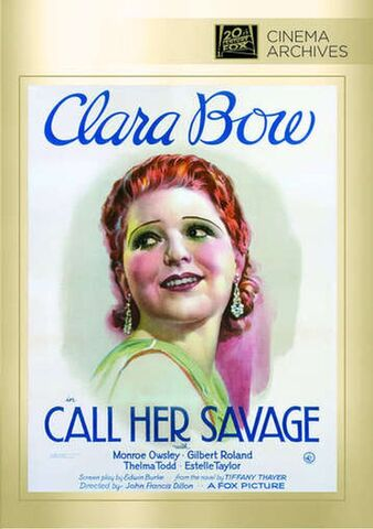 File:1932 - Call Her Savage DVD Cover (2014 Fox Cinema Archives).jpg