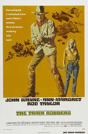 1973 - The Train Robbers Movie Poster