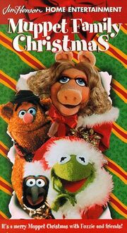 A Muppet family christmas vhs