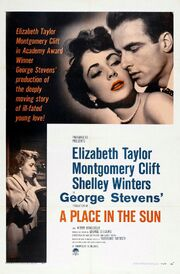 1951 - A Place in the Sun Movie Poster