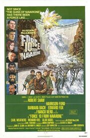 1978 - Force 10 from Navarone Movie Poster