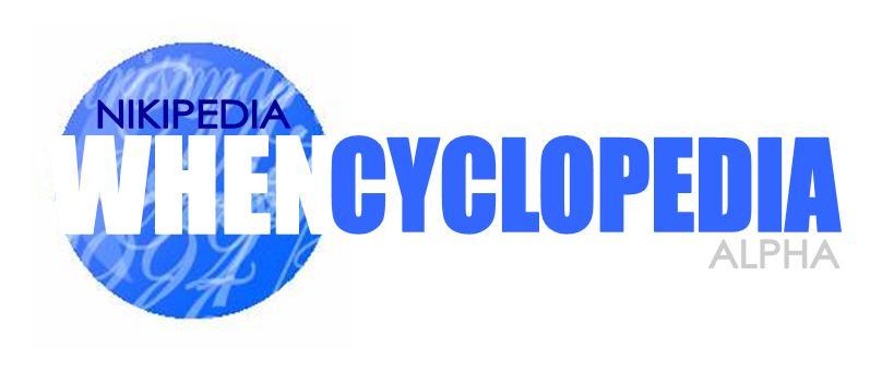 New Whencyclopedia