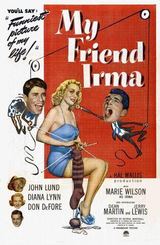 File:1949 - My Friend Irma Movie Poster.jpg