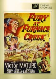 1948 - Fury at Furnace Creek DVD Cover (2012 Fox Cinema Archives)