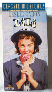Classic Musicals Lili VHS