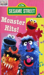 Monsters Hits 1995 UK VHS