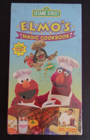 Sesame Street Elmos Magic Cookbook VHS