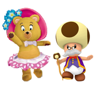 Tessie and Toadsworth