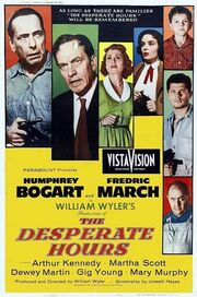 The Desperate Hours 1955 Poster