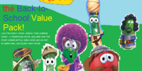 The VeggieTales Back-to-School Value Packs!