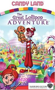 Candy Land The Great Lollipop Adventure 2005 Theatrical Poster