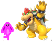 Marie and Bowser