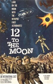 1960 - 12 to the Moon Movie Poster