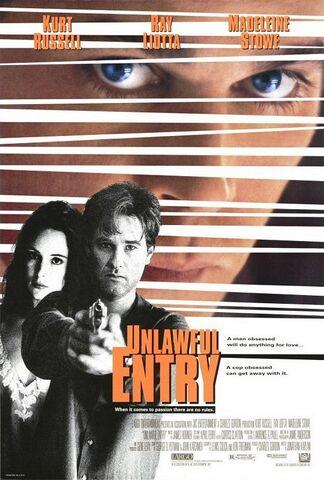 File:1992 - Unlawful Entry Movie Poster.jpg