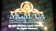 MGM UA Home Video Rainbow Copyright Scroll (2001)