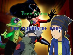 Teen Titans Vs Legion of Doom